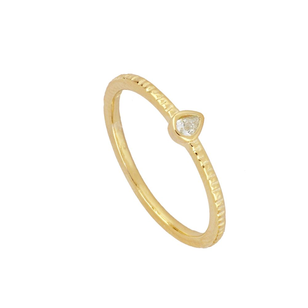 ANILLO SENYA WHITE GOLD