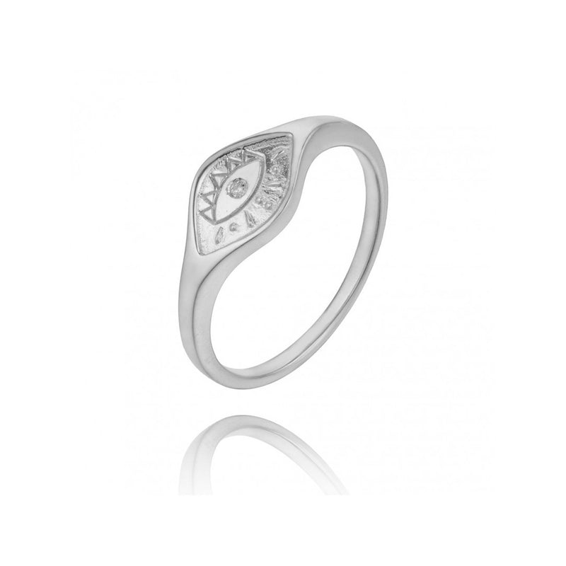 ANILLO TURKISH EYE SILVER