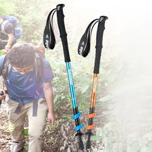 Load image into Gallery viewer, Alpenstocks Ultralight Trekking Folding Pole Walking Hiking sticks camping family Alpenstocks