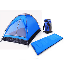 Load image into Gallery viewer, 3 Piece - 1 Person Camping Gear Set great for the soloist camper!
