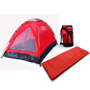 3 Piece - 1 Person Camping Gear Set great for the soloist camper!
