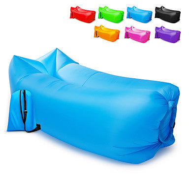 Inflatable Sofa Sleep lounger / Air Sofa / Air Bed Outdoor Camping Waterproof, Portable, Moistureproof Design-Ideal Couch Oxford Camping / Hiking, Beach, Traveling for 1 person