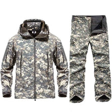 Load image into Gallery viewer, New Men Tactical Military Uniform Clothing Waterproof Army Combat Uniform Tactical Pants Men's Camouflage Hunt Clothes