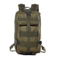 Load image into Gallery viewer, 3P Military Bag Army Tactical Outdoor Camping Men's Military Tactical Backpack Oxford for Cycling Hiking Sports Climbing Bag 25L