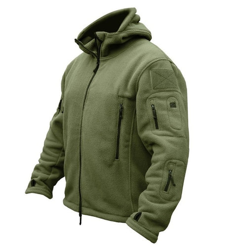 Tactical,Hiking Fleece,Outdoor Windproof Breathability Wearable Stretchy Fleece  Jacket