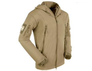 Outdoor Sport Softshell TAD Jacket Tactical Men's  Hunting Clothes Military Coats Camping Hiking Hooded Jacket