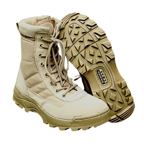 US Shpping Sport Army Men\'s Tactical Boots Desert Outdoor Hiking Military Enthusiasts Marine Male Combat Shoes Fishing Waders