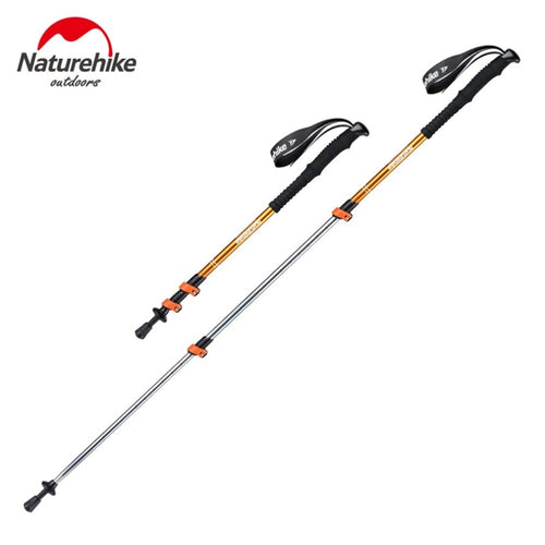 Alpenstocks Ultralight Trekking Folding Pole Walking Hiking sticks camping family Alpenstocks