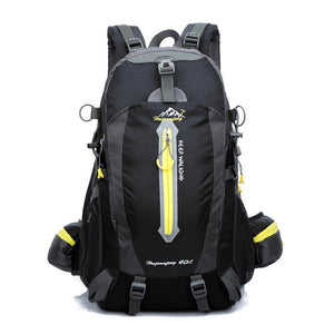 40L Waterproof Tactical Backpack Hiking Bag Cycling Climbing Rucksack Laptop Backpack Travel Outdoor Bag Men Women Sports Bag