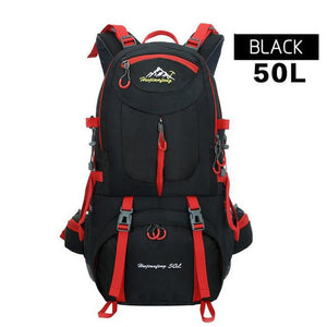 Hot Outdoor Camping Climbing Bag Sports Backpack Large Capacity Waterproof Travel Backpack 40L Rucksack 50L Hunting Hiking Bags