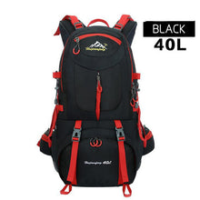 Load image into Gallery viewer, Hot Outdoor Camping Climbing Bag Sports Backpack Large Capacity Waterproof Travel Backpack 40L Rucksack 50L Hunting Hiking Bags