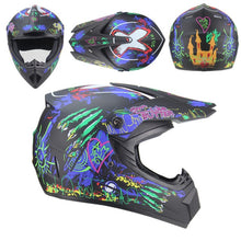 Load image into Gallery viewer, Top ABS motorcycleMotobiker Helmet Classic bicycle MTB DH racing helmet motocross downhill bike helmet AHP-225