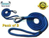 pack-of-2-12-x-8-mooring-lines-double-braid-100-nylon-rope-with-stainless-steel-thimble - dbRopes