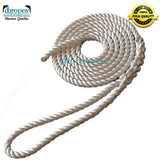 "1/2"" X 16' Three Strand Mooring Pendant 100% Nylon Rope with Eye. (Tensile Strength 6400 Lbs.) Made in USA. FREE SHIPPING - dbRopes"