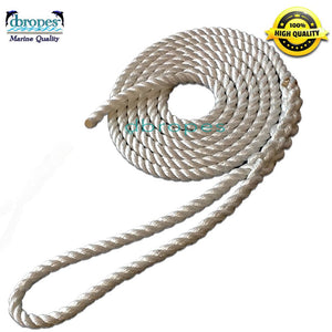"3/4"" x 51.5' Dock Line 100% Nylon Rope made in USA TS 13800 LBS - dbRopes"