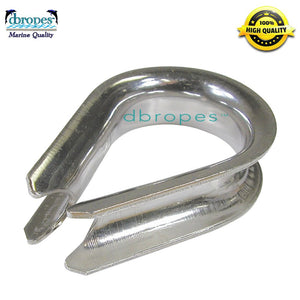 "1/2"" Stainless Steel Thimble - dbRopes"