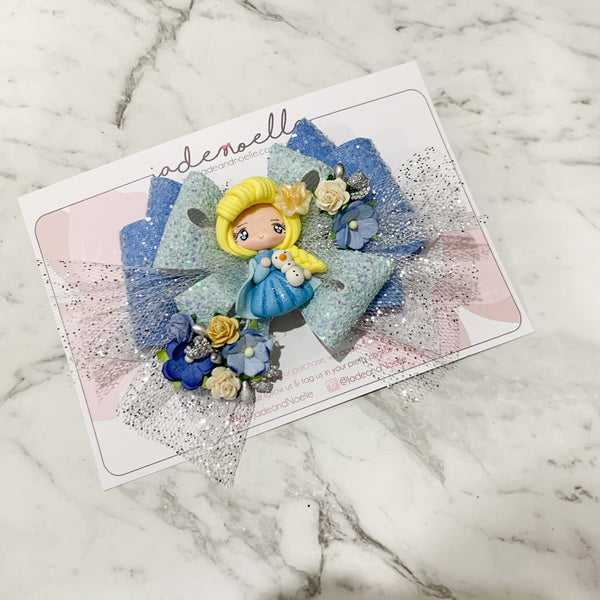 Princess Elsa Clay Bow