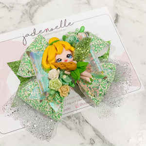Tinkerbell Clay Bow