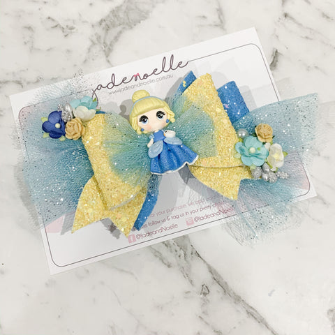 Cinderella Clay Bow
