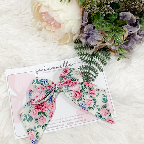 Maggie Fabric Bow