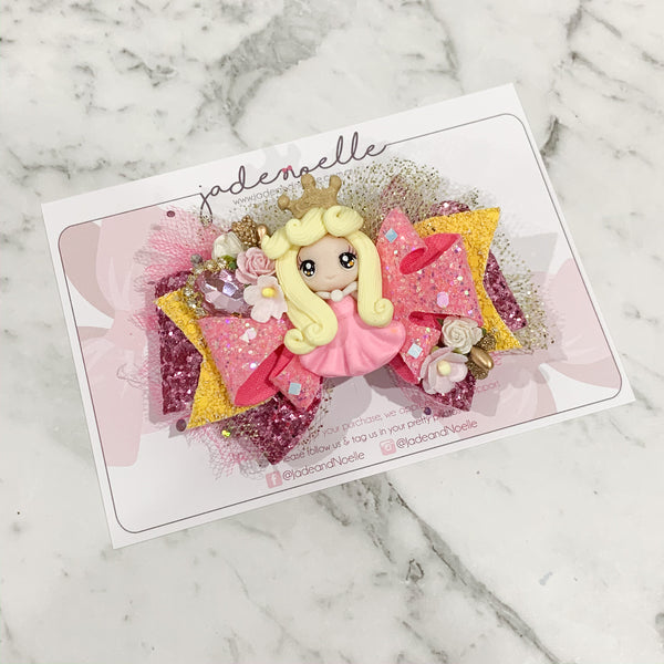 Princess Aurora Clay Bow