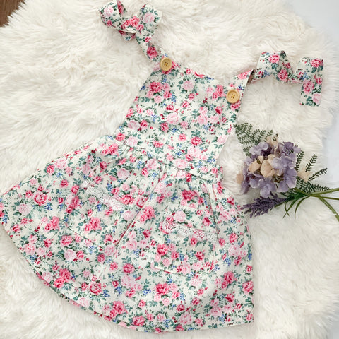 Maggie Pinafore Dress