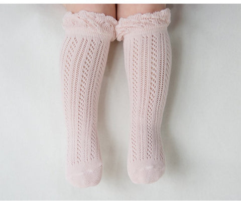 Jane's Ruffles Socks - PINK