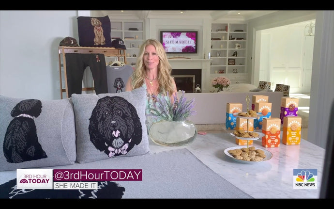 Today Show - She Made It Feature of Sweater Hound