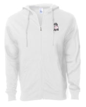 Load image into Gallery viewer, Dog Wearing Sweater - Custom Embroidered Zip Up Hoodie