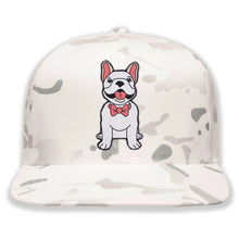 Load image into Gallery viewer, Dog wearing Bowtie - Custom Embroidered Camo Hat