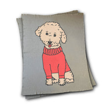 Load image into Gallery viewer, Custom Dog wearing Sweater Blanket