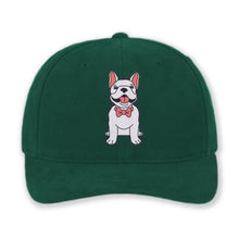 Load image into Gallery viewer, Dog Wearing Bowtie - Custom Embroidered Cotton Hat