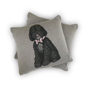 Dog Full Body - Custom Knitted Pillow