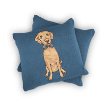 Load image into Gallery viewer, Dog Full Body - Custom Knitted Pillow