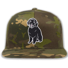 Load image into Gallery viewer, Embroidered Camo Plain Dog Hat
