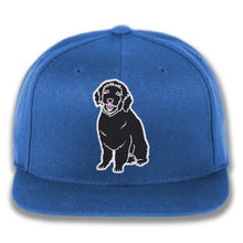 Load image into Gallery viewer, Plain Dog - Custom Embroidered Snapback Hat