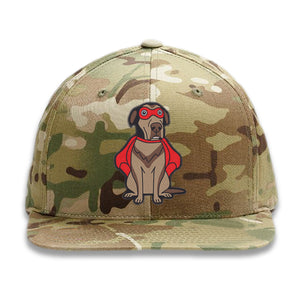 Embroidered Camo Super Dog Hat