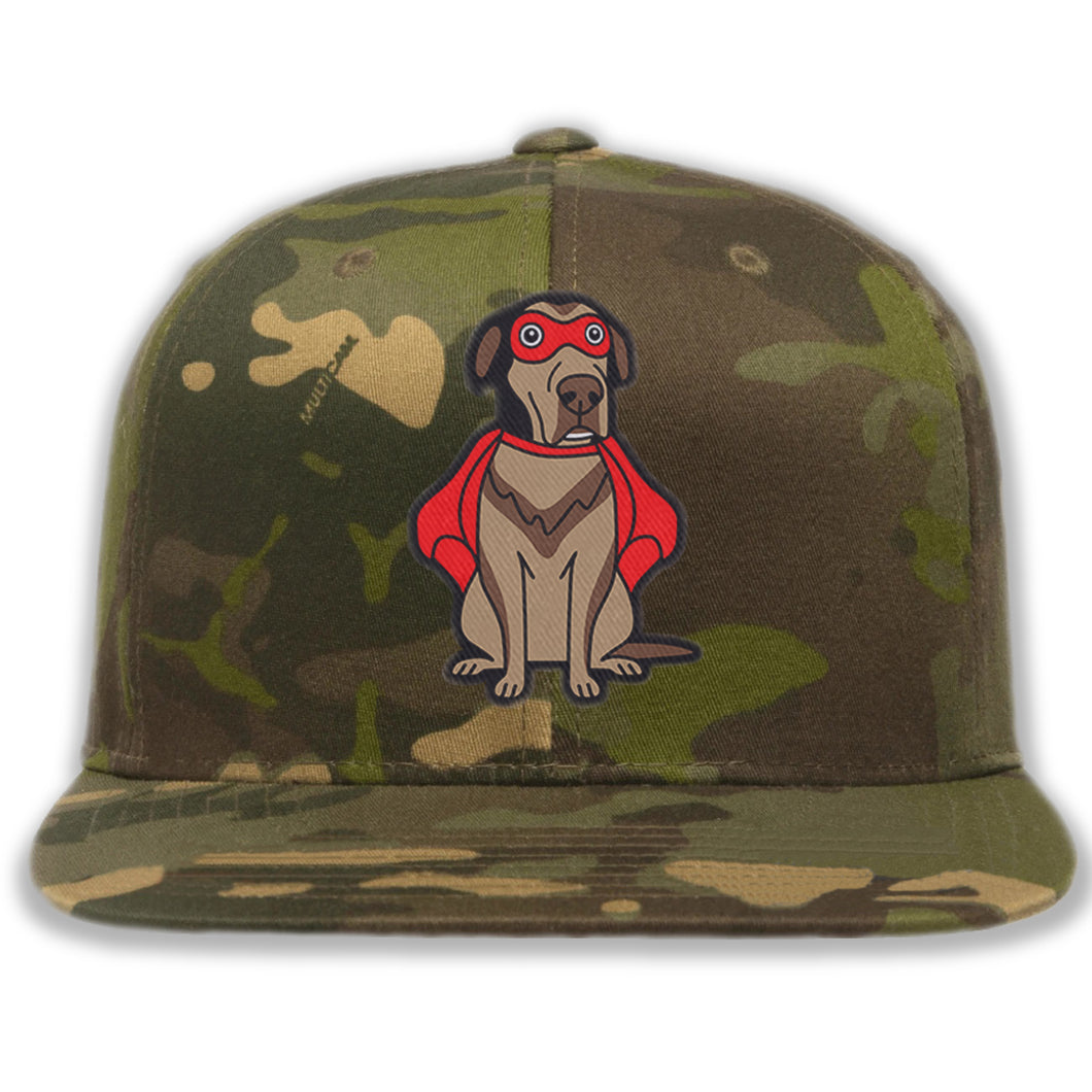 Super Dog - Custom Embroidered Camo Hat