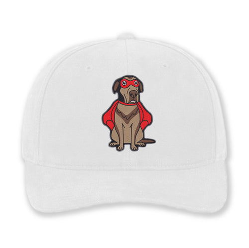 Embroidered Super Dog Cotton Hat