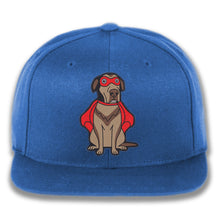 Load image into Gallery viewer, Embroidered Super Dog Snapback Hat