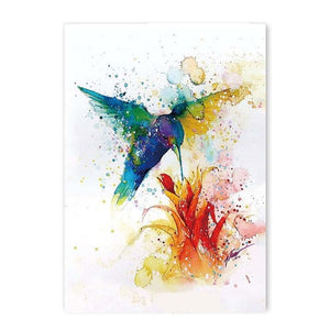 abstract water color canvas