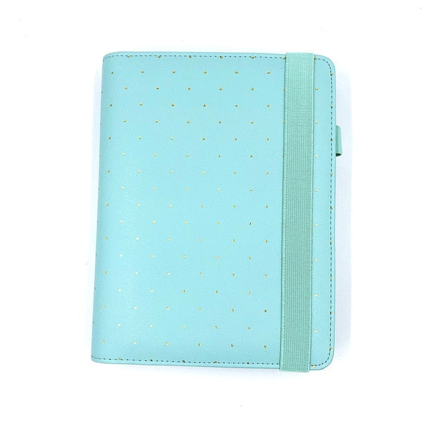 Lovedoki 2019 New Dokibook Notebook Candy Color Cover A5 A6 Loose-Leaf Time Planner Organizer  Series Personal Diary Daily Memos