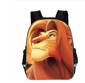Mochilas Infantil Simba The Lion King School Bags Christmas gift For Teenagers Children Cartoon Bag Kids Backpack Boys&Girls