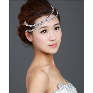 Rhinestone hair accessory
