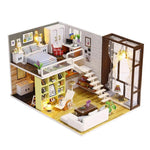 Wooden doll house kit