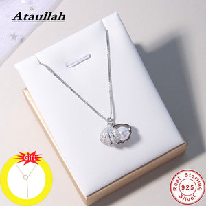 Fashion Shell Pearl Necklace