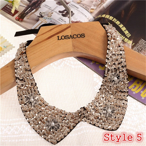 Unique Cloth Ribbon Choker Necklaces