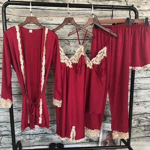 Silk night gowns