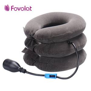 neck massage Inflatable collar to relieve neck muscles reduce headaches mild stretching of the cervical spine
