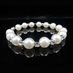 Pearl and Rhinestone Bridal Jewelry - Giftery